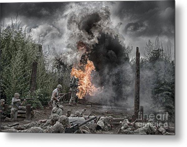 Flame Of Victory Metal Print