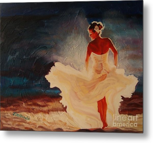 Flamenco Allure Metal Print