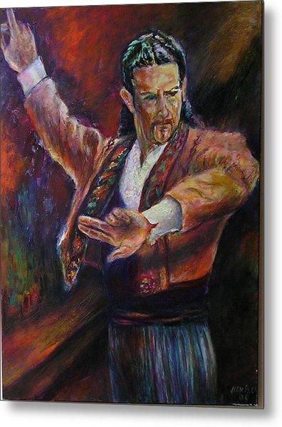 Flamenco Dancer Xx Metal Print