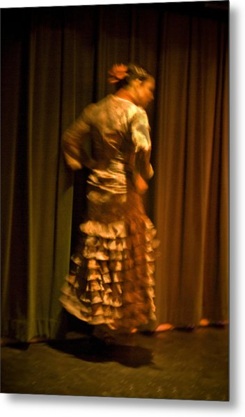 Flamenco Series 14 Metal Print
