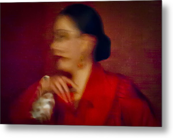 Flamenco Series 4 Metal Print