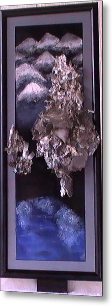 Flames To New Opportunities #3b Metal Print by Tanna Lee M Wells