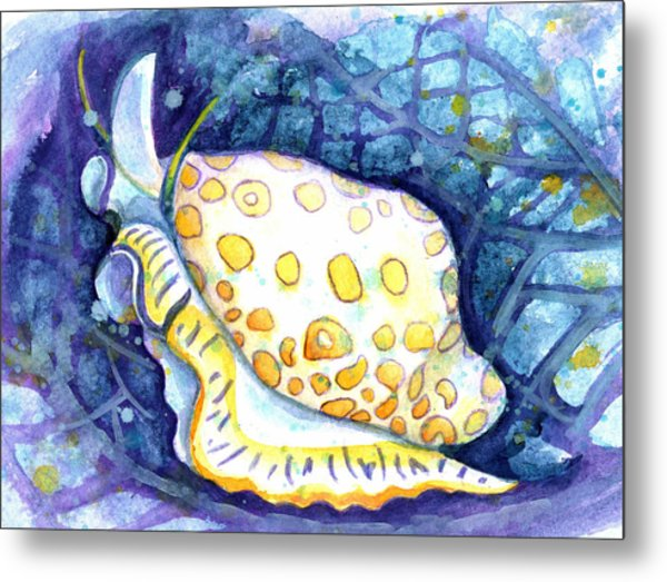Flamingo Tongue Metal Print