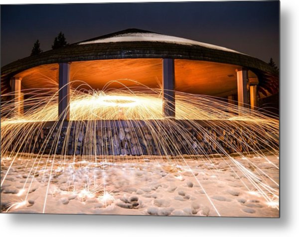 Flare Metal Print by Mark Miller