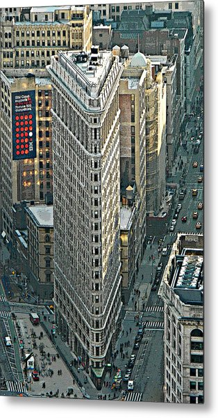Flatiron Building Nyc 1 Metal Print