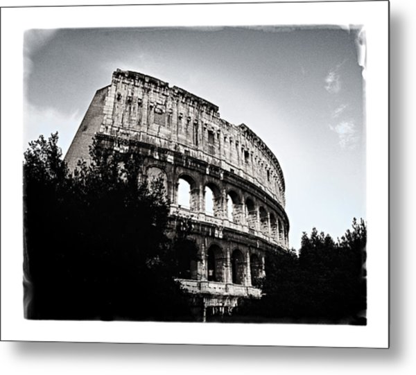 Metal Print featuring the photograph Flavian Amphitheater by Joe Winkler