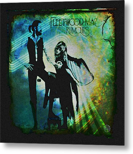 Fleetwood Mac - Cover Art Design Metal Print