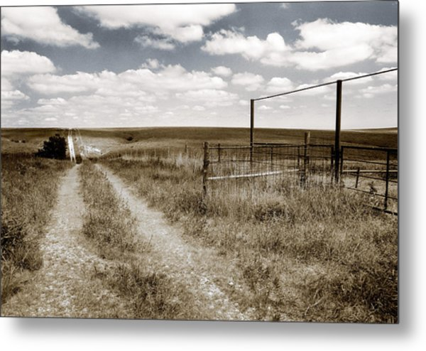 Flint Hills Country Metal Print