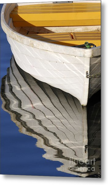 Floating On Blue 15 Metal Print