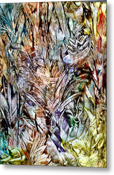 Flora Metal Print by Danya Hammoudi