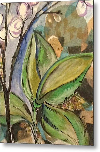 Flora1 Metal Print by Karen Carnow