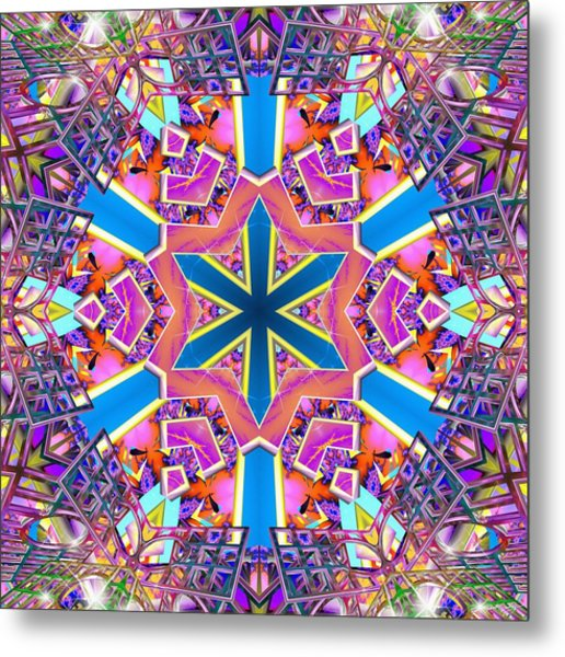 Floral Dreamscape Metal Print
