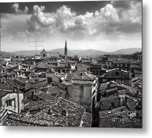 Florence Italy - 01 Metal Print