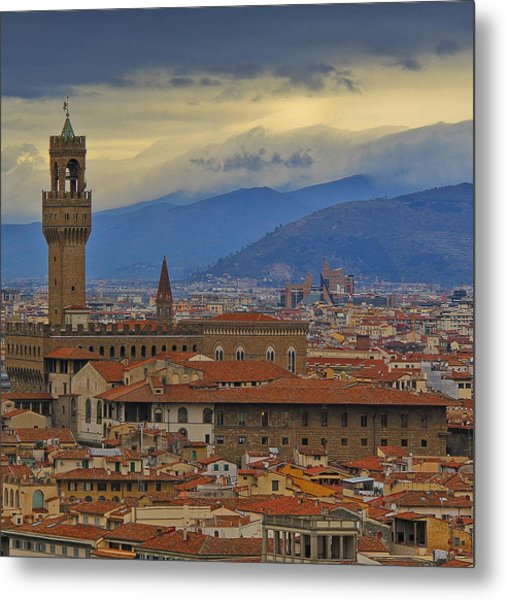 Florence Overlook Metal Print