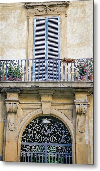 Florentine Apartment Metal Print