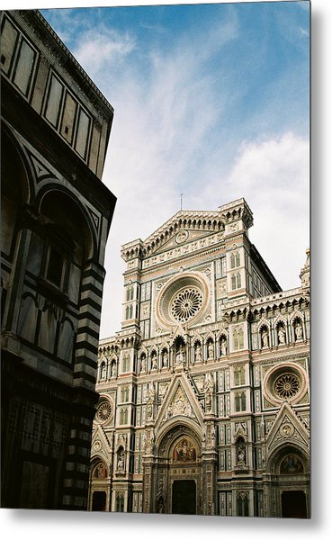 Florentine Architecture Metal Print by Michael  Cryer