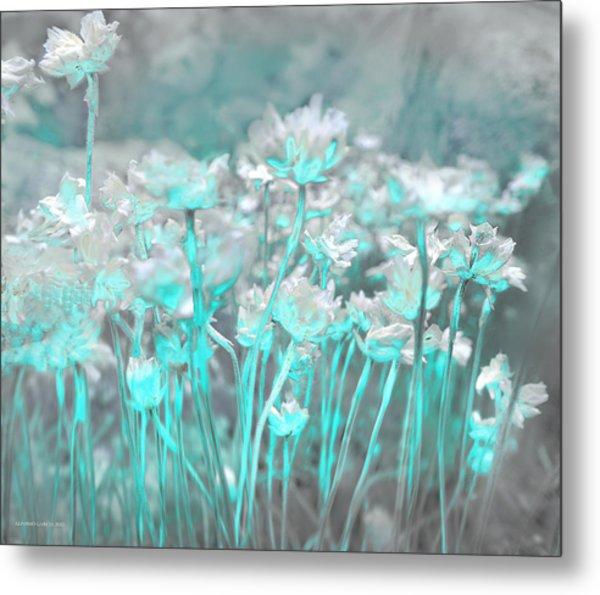 Flores De Roca Metal Print