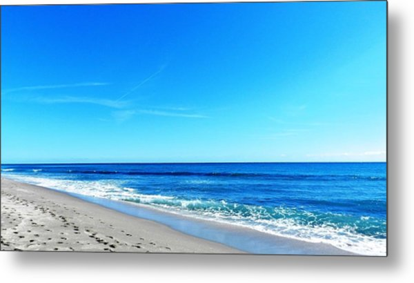 Florida Beach Metal Print by Yvonne Aguero