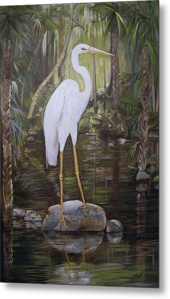 Florida Bird Metal Print