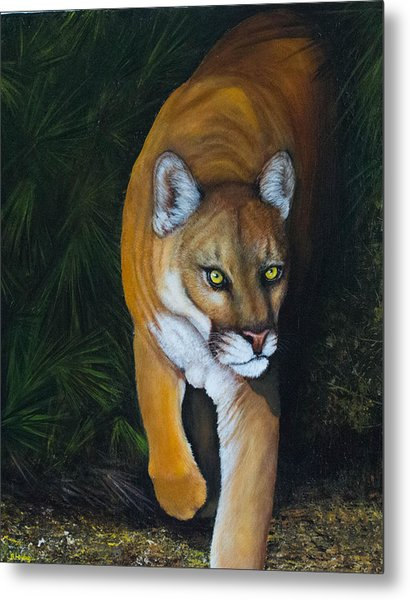 Florida Native Metal Print