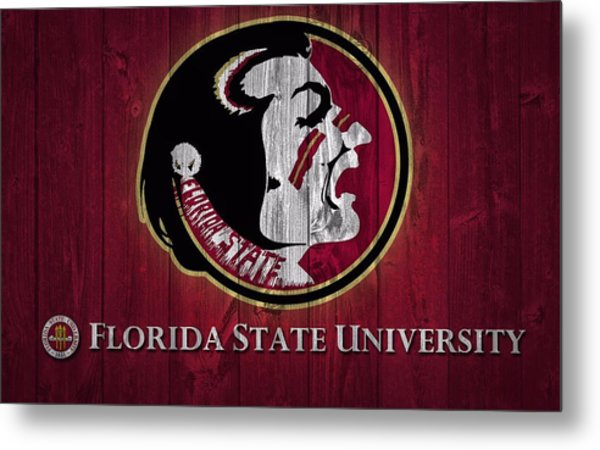 Florida State University Barn Door Metal Print