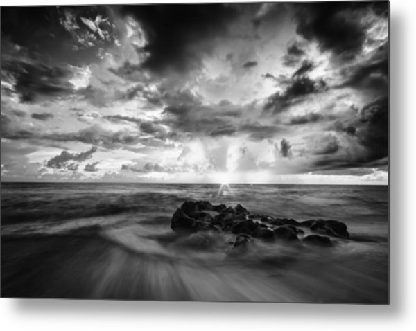 Florida Sunrise Metal Print
