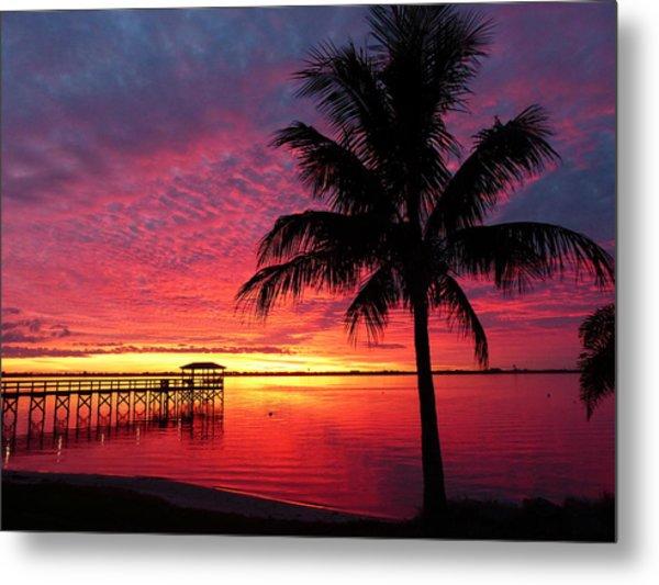Florida Sunset II Metal Print