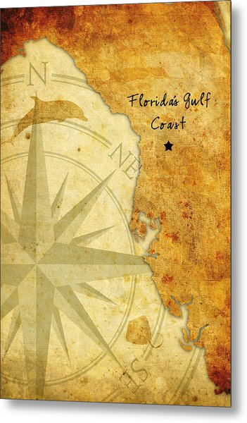 Florida's Gulf Coast Metal Print