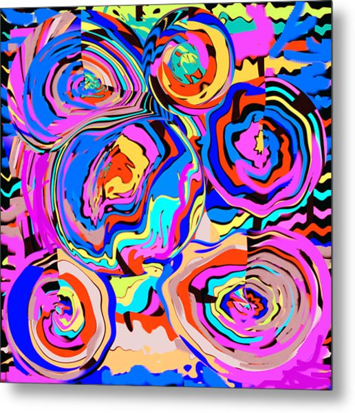 Abstract Art Painting #2 Metal Print