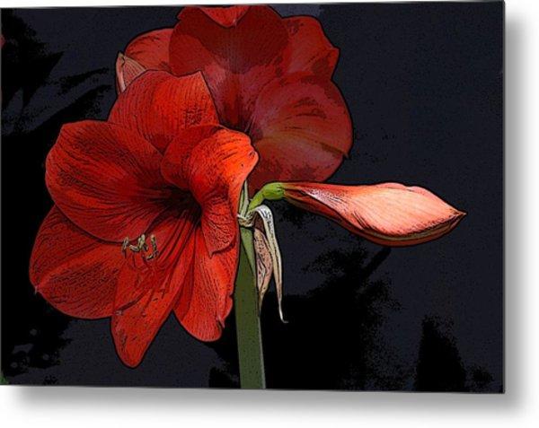 Flower Art02 Metal Print
