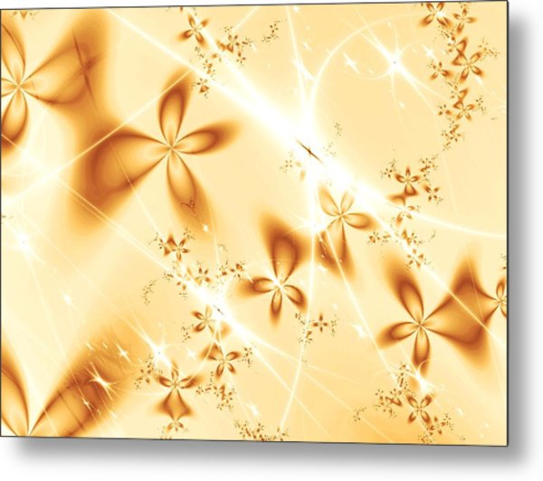 Flower Breeze Metal Print