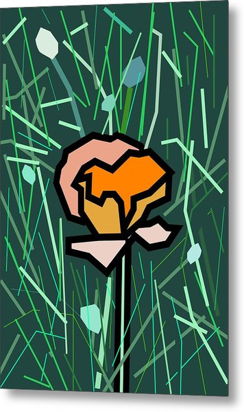 Flower Metal Print by Kenneth North