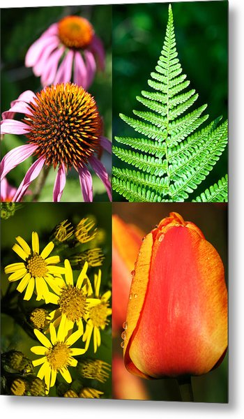 Flower Photo 4 Way Metal Print