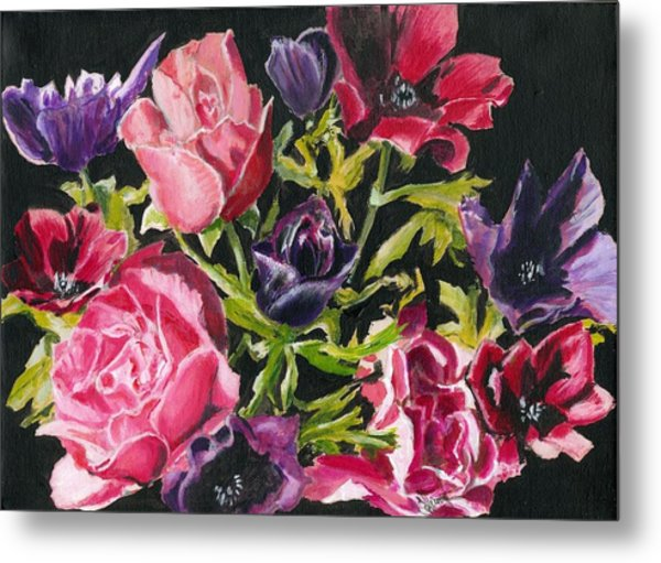 Flower Power Metal Print by John Simlett
