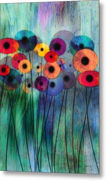 Flower Power Three Metal Print