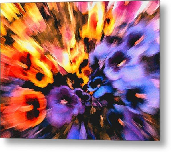 Flower Trip Metal Print