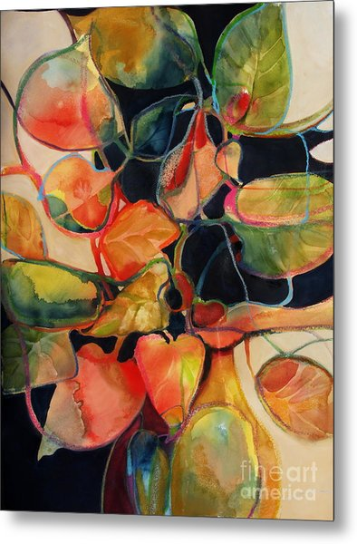Flower Vase No. 5 Metal Print