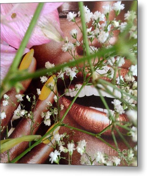 Flowergirl2 Metal Print