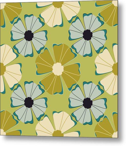Flowers 3 Metal Print