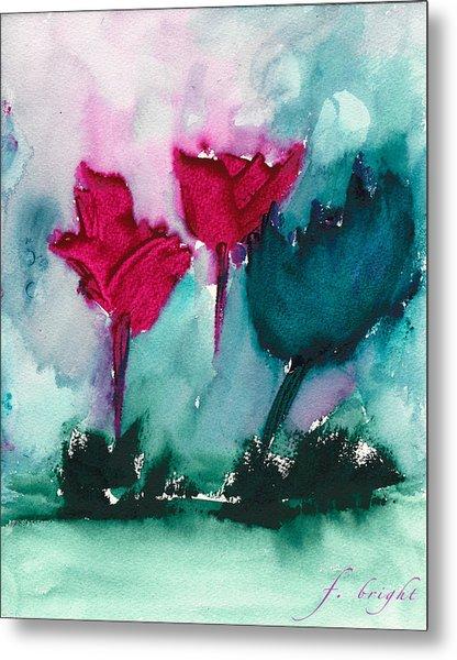 Flowers For Trees Metal Print