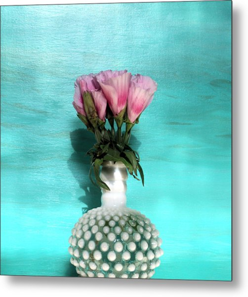 Flowers For You Metal Print by Paulette Maffucci
