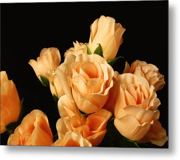 Flowers In Mourning Metal Print