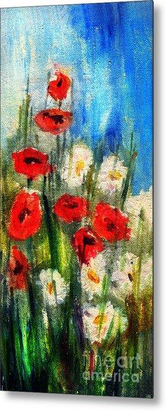 Flowers - Poppy's Flower Metal Print