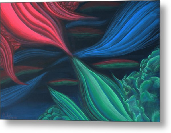 Flowing Harmony Metal Print