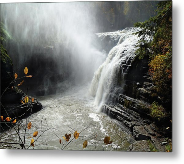 Flowing Tranquility Metal Print by Mike Feraco