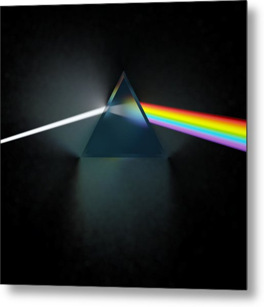 Floyd In 3d Simulation Metal Print