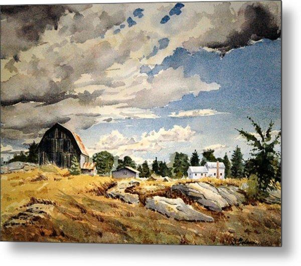 Floyd's Barn No. 2 Metal Print