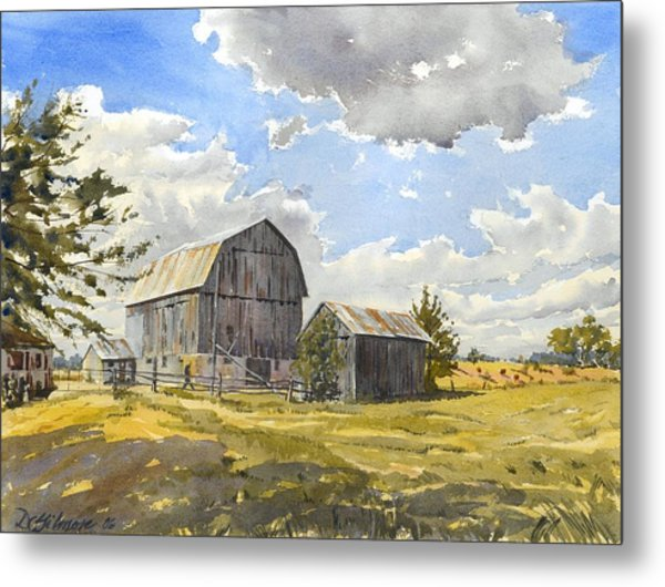 Floyd's Barn No.1 Metal Print