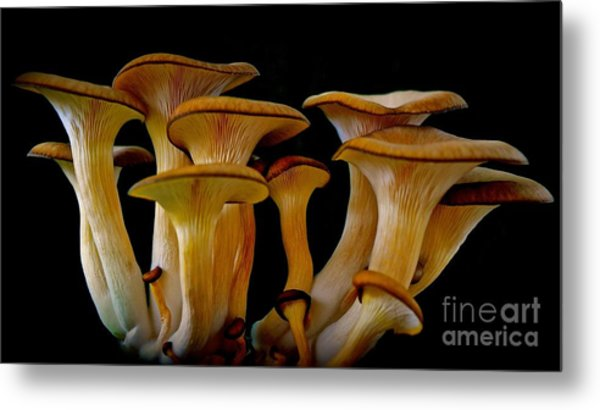 Fluted Clump Metal Print
