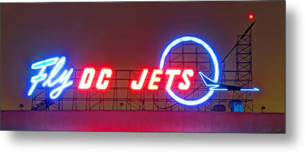 Fly Dc Jets Metal Print